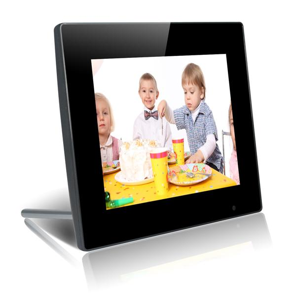 10.4 Inch Temper Glass LCD Display Screen With Video Music Loop Play