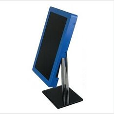 China Blue 8 Inch USB 2.0 Metal Rack POP LCD Display Monitor With Loop Photo Play supplier