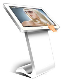 China 40 Inch Touch Screen Floor Standing LCD Advertising Player Digital Signage Kiosk supplier