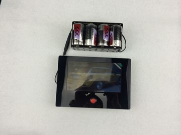 Dry Battery Powered Digital Photo Frame Low Consumption With Press Button