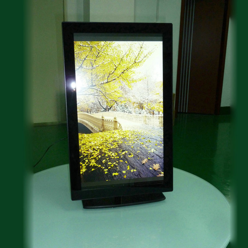 Multimedia Digital LCD Digital Photo Frame Wide Screen 250-300 Nits Brightness