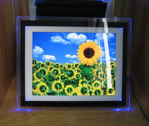 Video / Audio / Photo 15 Inch Personalized Digital Photo Frame With ...