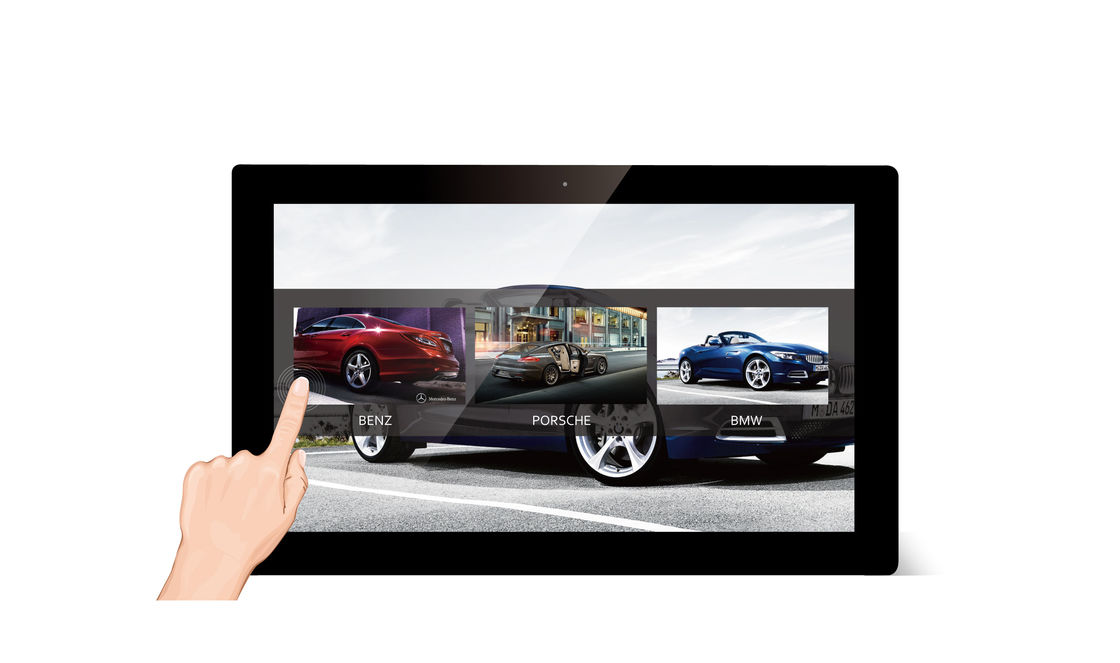 Android 21.5 Inch Touch Screen WIFI Digital Photo Frame with 500:1 ...