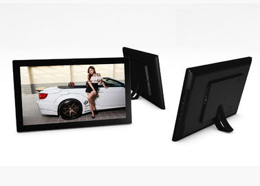 15.6 Inch Touch Screen Digital Picture Frame Free Viewing Angle IPS Screen HD
