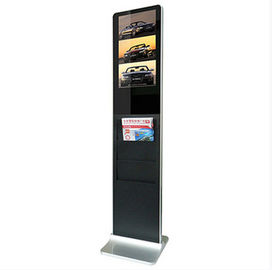 China Supermarket / Restaurants HD Floor Standing Digital Signage 1680*1050 350cd/m2 factory