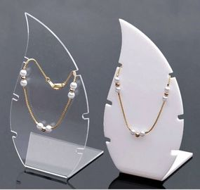 Custom Luxury Desktop Necklace Acrylic Display Stands Thickness 0.8mm-18mm