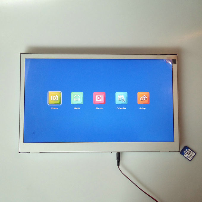 POS Open Frame Lcd Display 15.6 Inch FHD IPS Screen Metal 1920 X 1080 Resolution