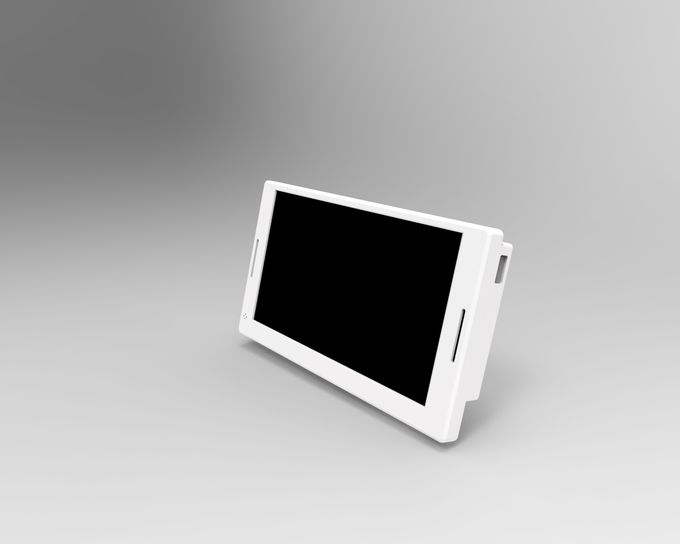 New arrival Private tooling HD 7'' video ad. screen  LCD video display with magnetic shelf hanging bracket