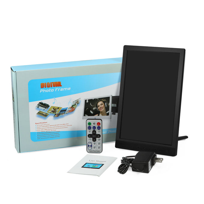 Portrait Type 10.1 Inches 800*1280p LCD Digital Photo Frame